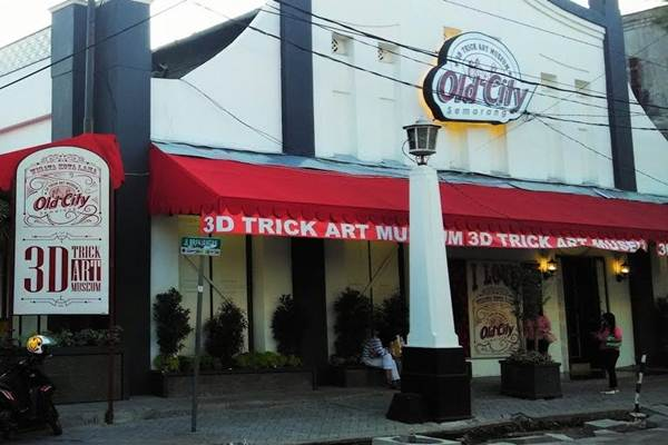 Destinasi Wisata Purbalingga Wahana 3d Art Museum City Trick Semarang