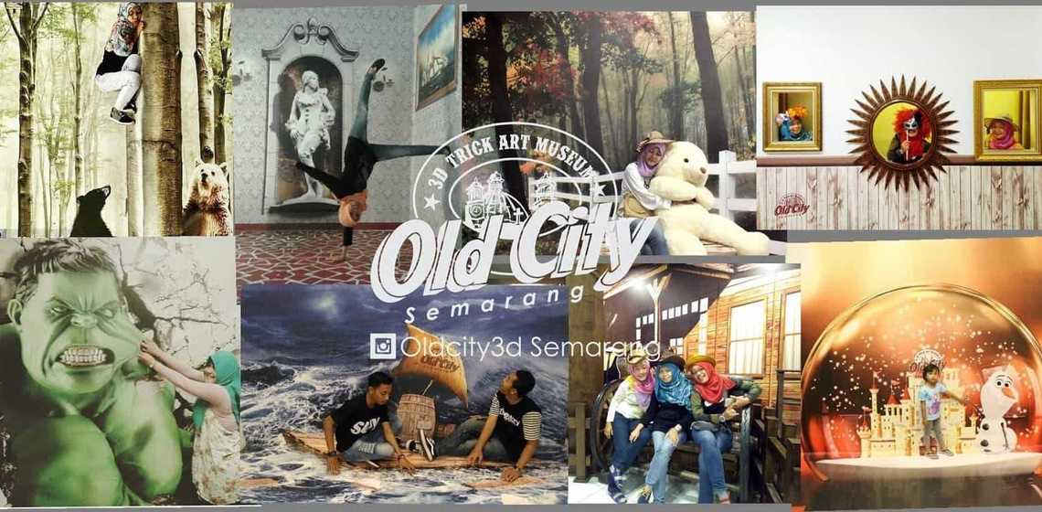 Informasi Seputar City 3d Trick Art Museum Semarang Ulinulin Khas