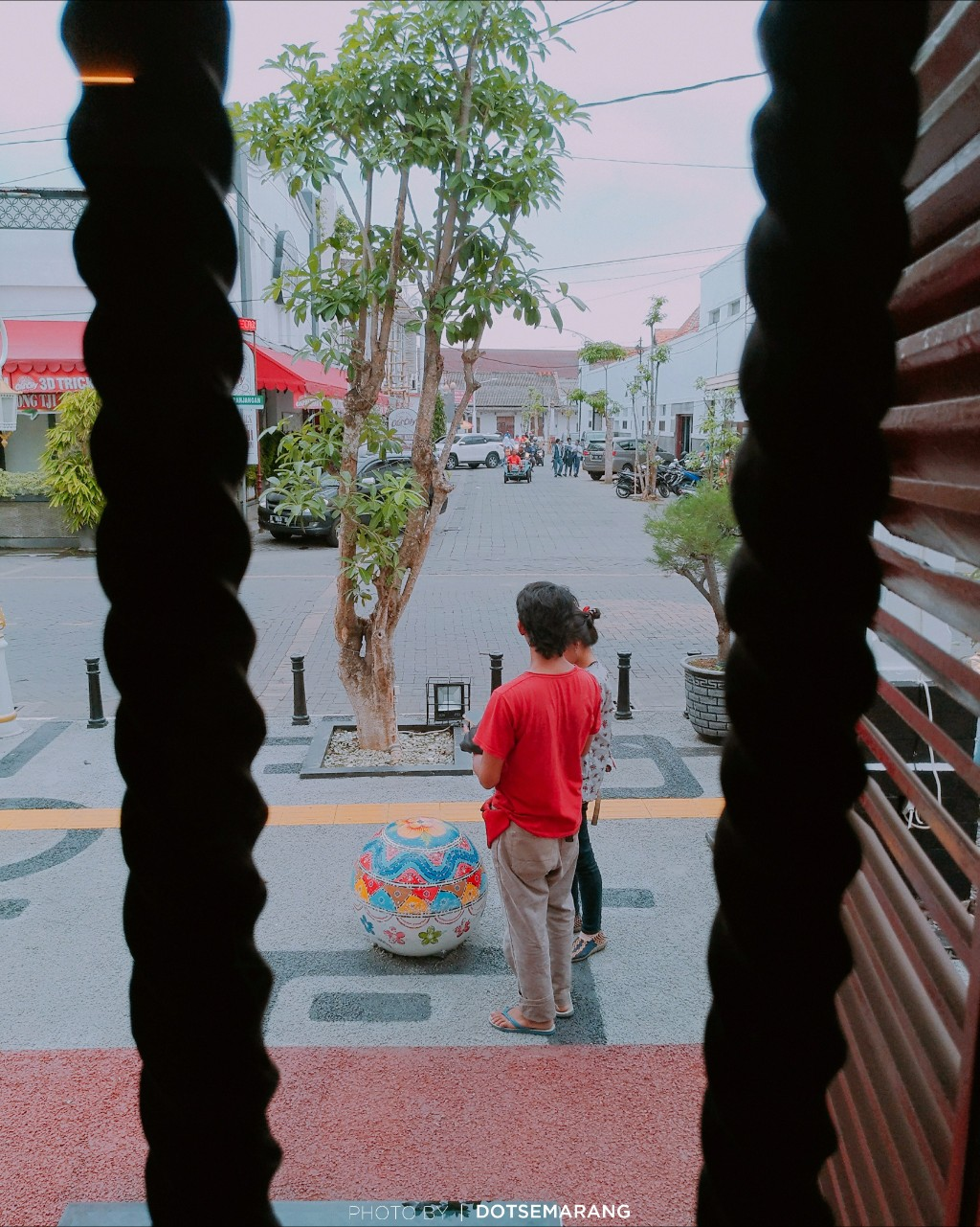 Mengintip Ruangan Semarang Kreatif Galeri Kota City 3d Trick Art