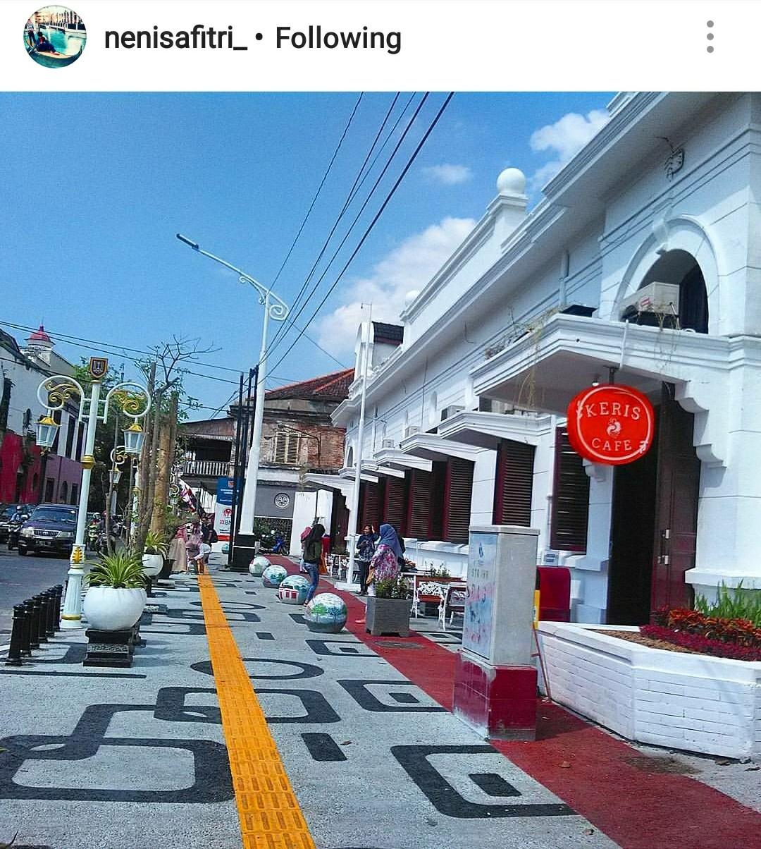 Semarang Coret Nongkrong Cantik Kreatif Galeri Keris Letaknya Persis Seberang