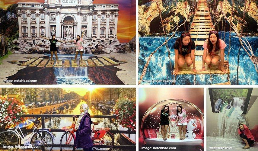 Sensasi Foto Seru Ala 3d Museum Cek 5 Lokasi Dijamin