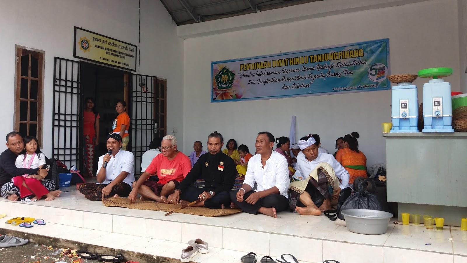 Bimas Hindu Kota Batam Menambah Sradha Bhakti Umat Dilanjutkan Sesi