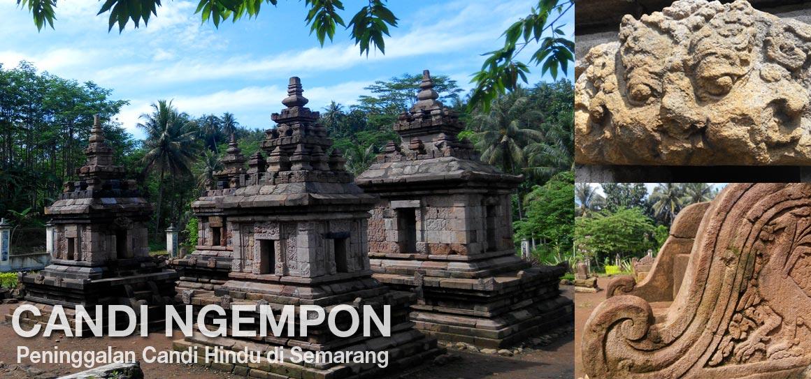 Semarang Candi Ngempon Peninggalan Hindu Tersembunyi Pura Giri Natha Kab