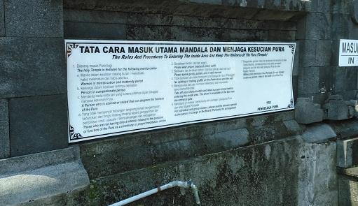 Semarang Pura Agung Giri Natha Wisata Religi Hindu Peraturan Kab