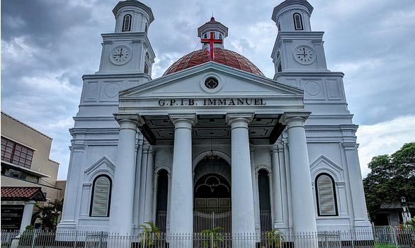 Tempat Wisata Mari Main Semarang Gereja Blenduk Sumber Google Pura