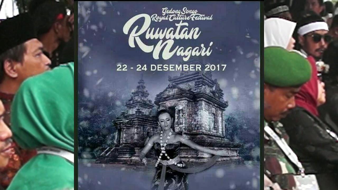 Gedong Songo Royal Culture Ritual Pasopati Ruwatan Nagari 23 Desember