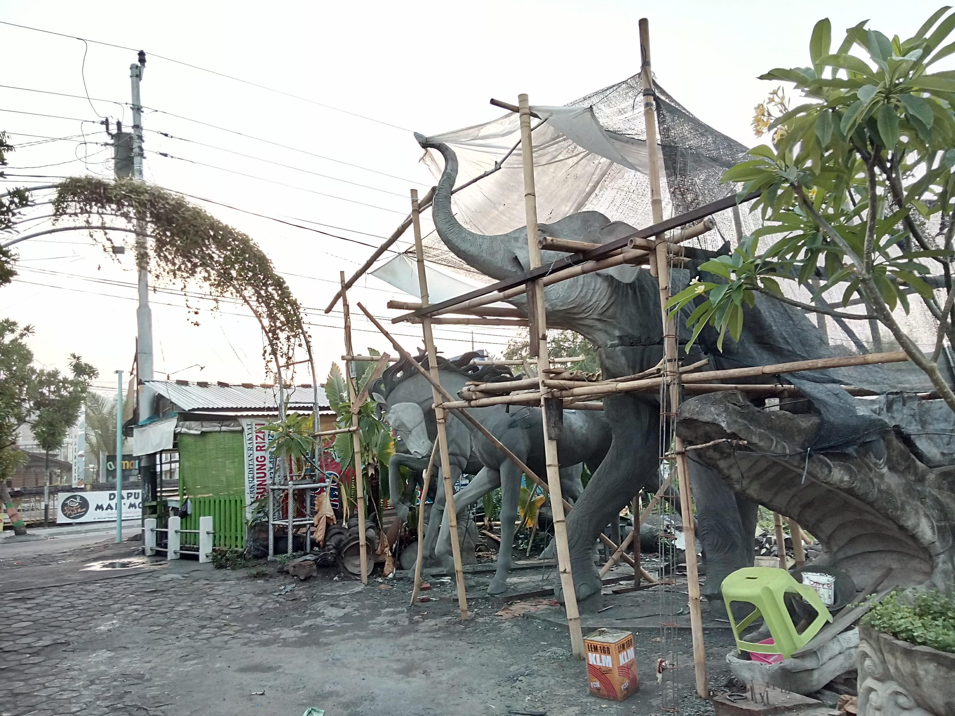 Leonardokrisna Gang Patung Ungaran Sanggar Seni Gedong Songo Kab Semarang