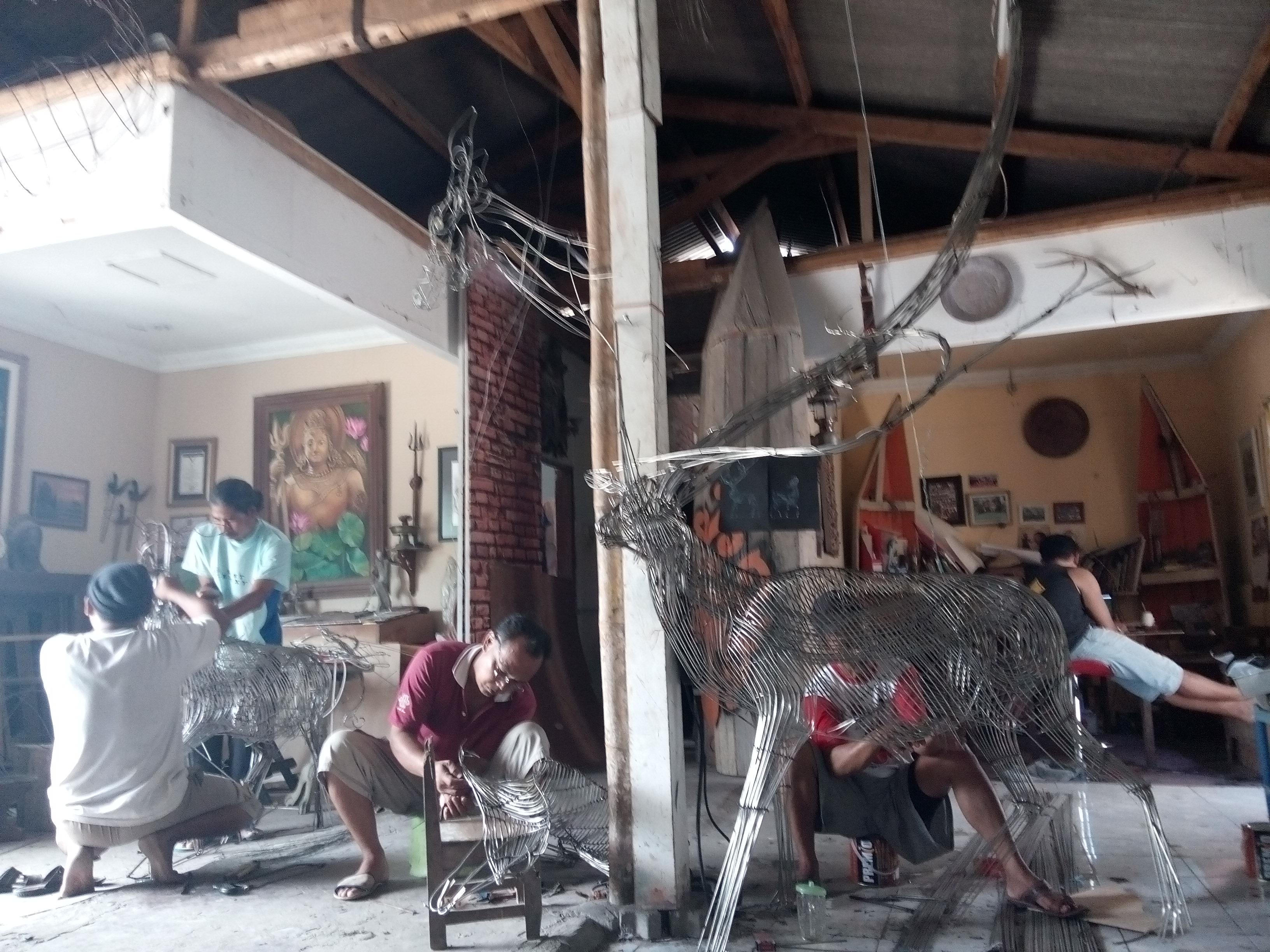 Leonardokrisna Leka Studio Team Work Sanggar Seni Gedong Songo Kab
