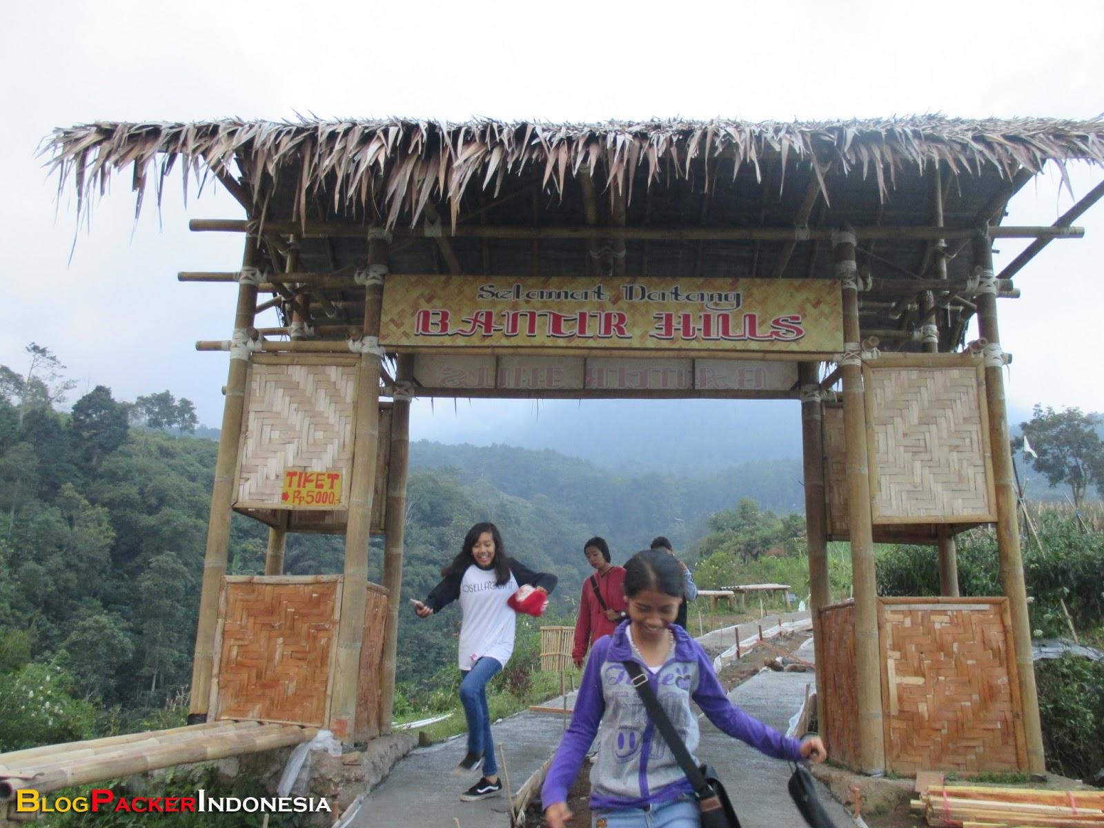 Panorama Alam Bantir Hills Keindahan Wisata Spot Foto Hits Kabupaten
