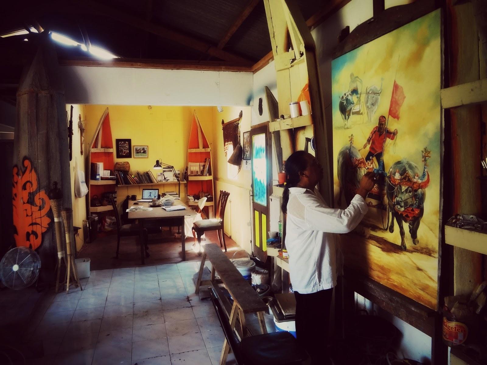 Studio Patung Tikno 2012 Profil Sanggar Seni Gedong Songo Kab