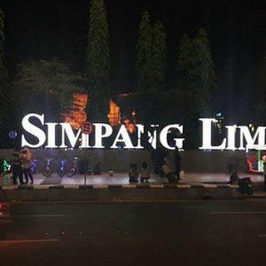 12 Foto Simpang Lima Semarang Wisata Kuliner Suasana Malam Hari