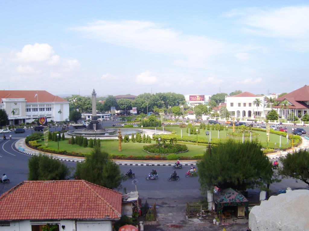 Info Semarang Sejarah Kota Simpang Lima Kab