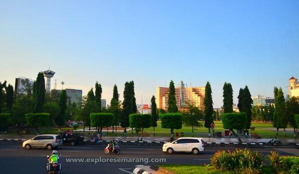 Kawasan Simpang Lima Explore Semarang Lapangan Kab