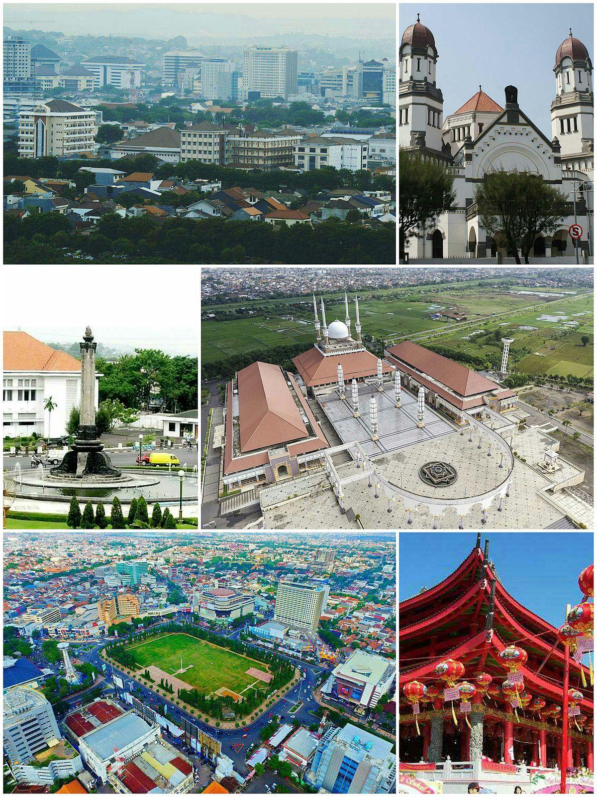 Kota Semarang Wikipedia Bahasa Indonesia Ensiklopedia Bebas Simpang Lima Kab