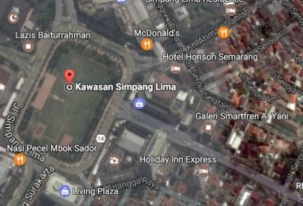 Pesona Keindahan Wisata Simpang Lima Pleburan Semarang Jawa Demikianlah Sedikit