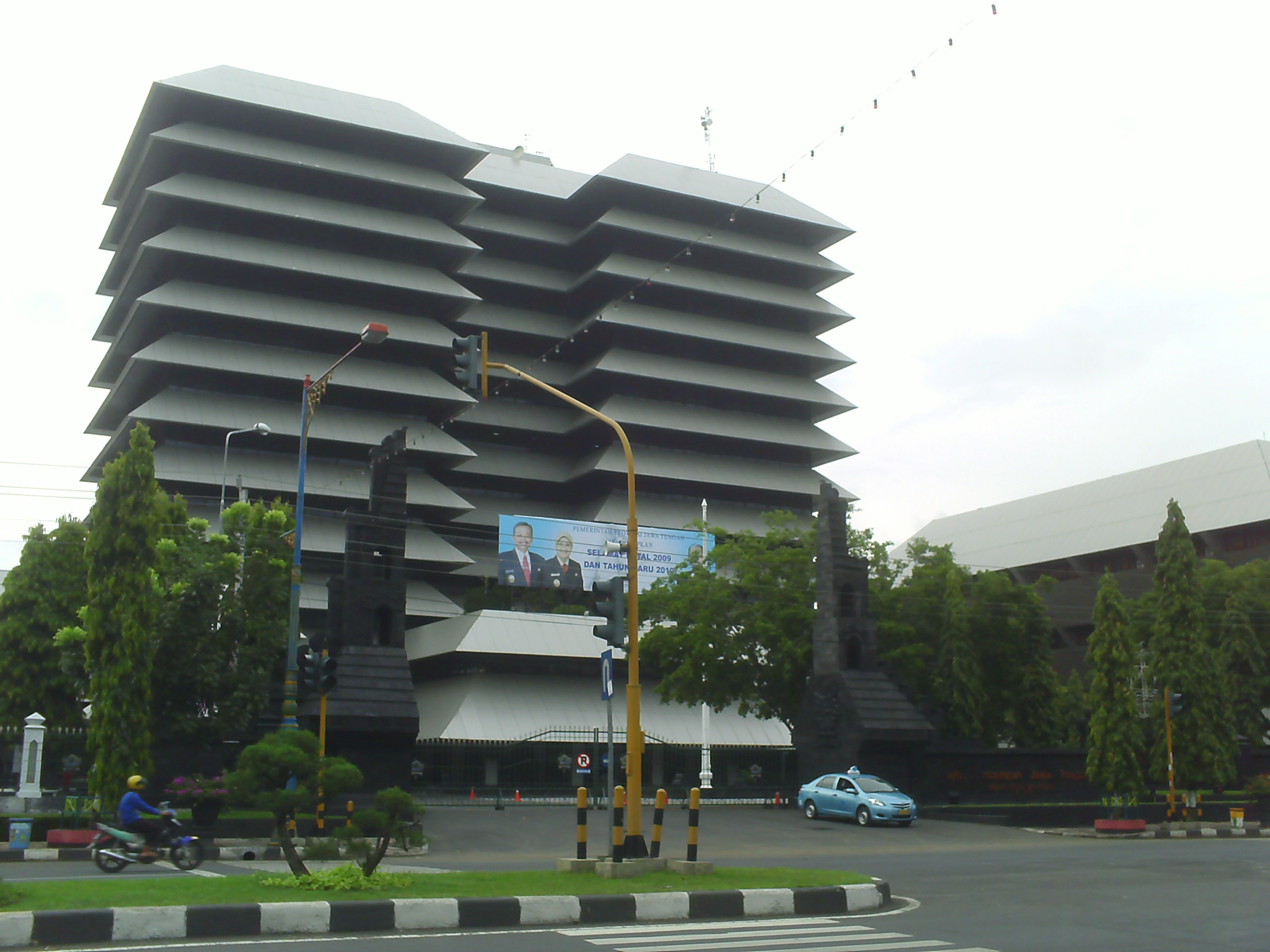 Semarang Picture Jalan Simpang Lima Kantor Kab