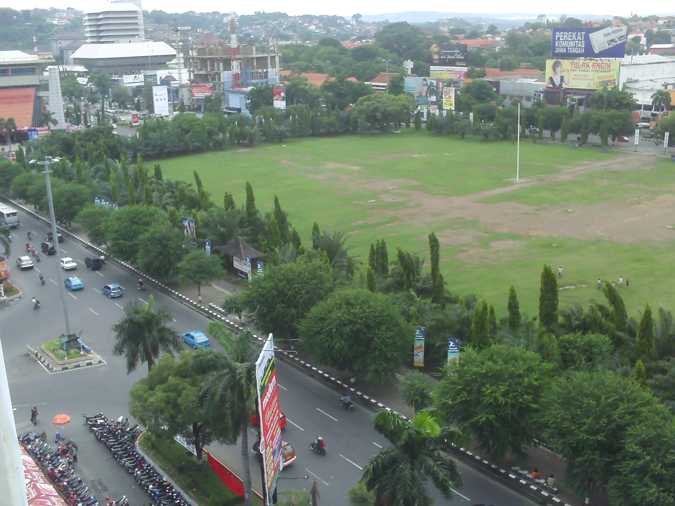 Semarang Picture Jalan Simpang Lima Kawasan Kab