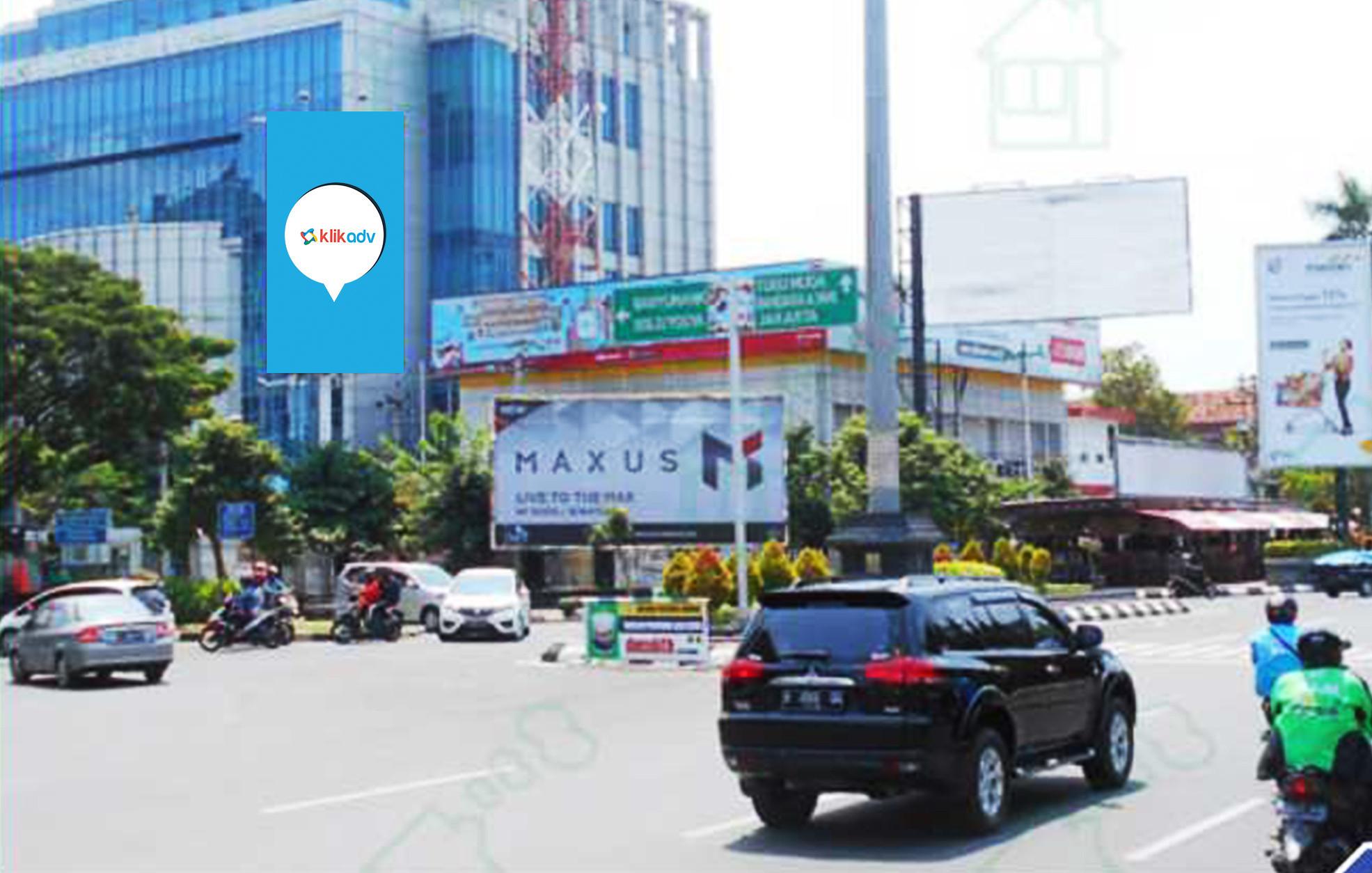 Sewa Billboard Jawa Tengah Kota Semarang Jl Simpang Lima Kantor