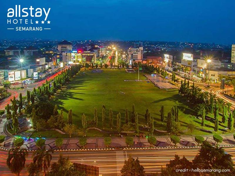 Simpang Lima Semarang Jpg Strategic Location Kab