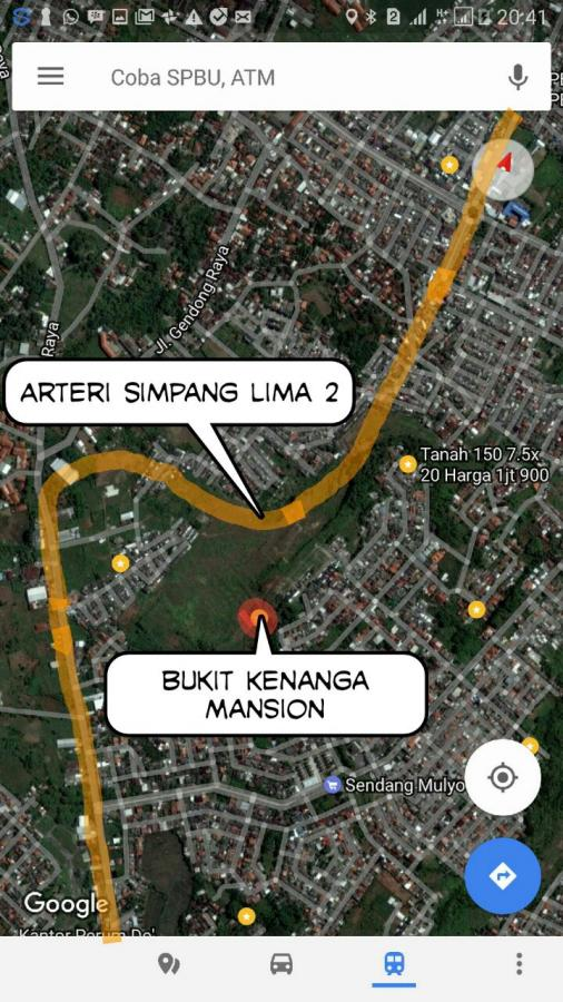 Tanah Dijual Kavling Perumnas Sendangmulyo Dilewati Jalan Arteri Simpang Lima