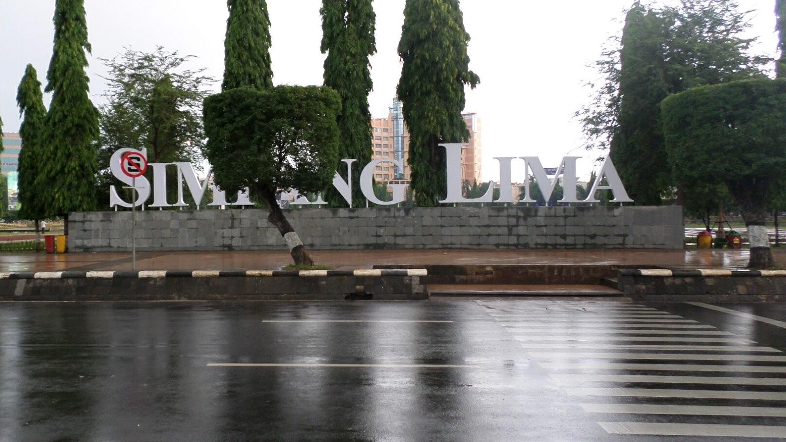 Wajah Ikon Simpang Lima Semarang Kab