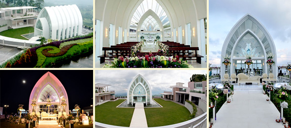 Inspirations 10 Wedding Venue Romantis Membaur Alam La Kana Chapel