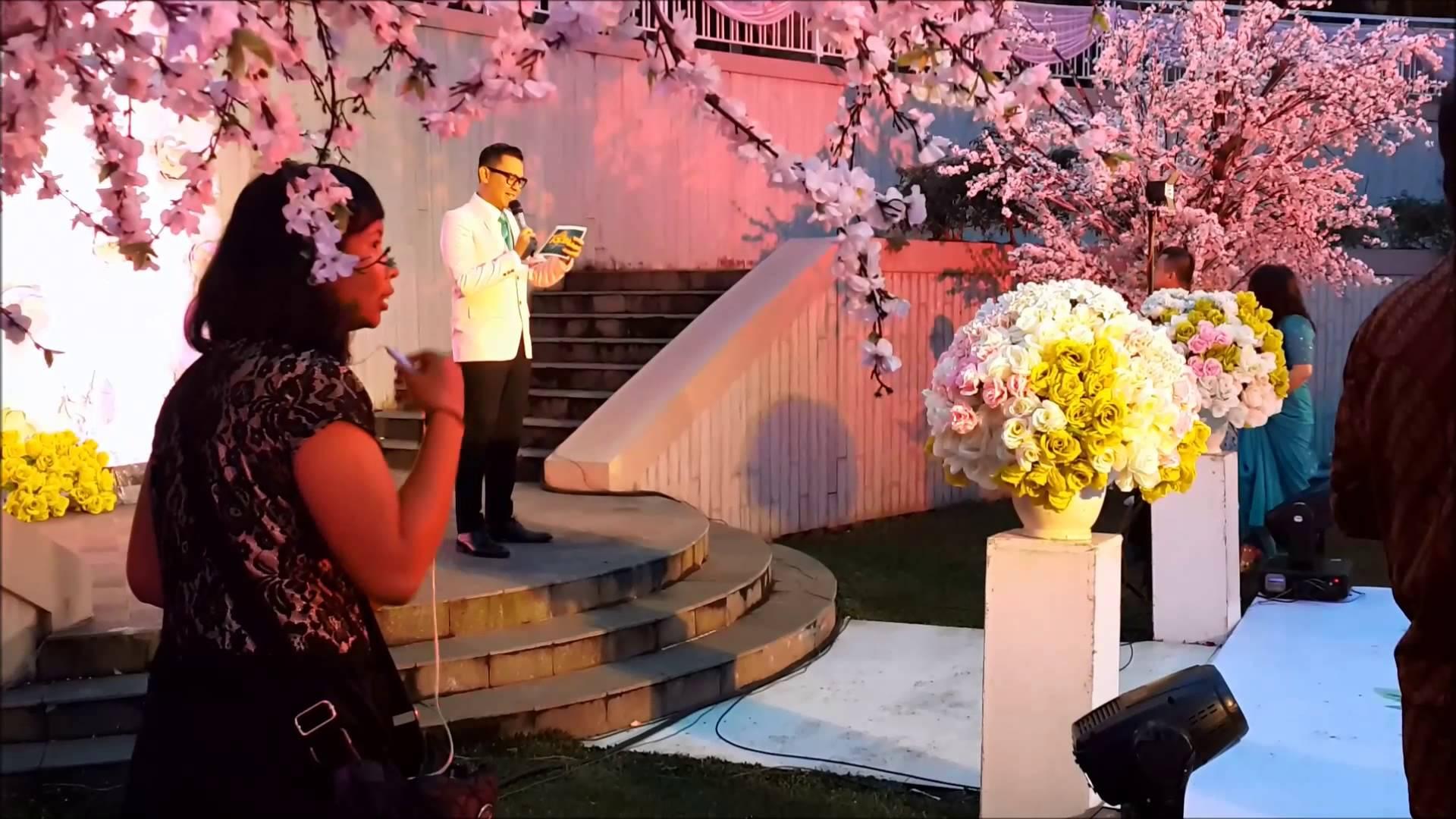 Mc Wedding Adi Sw Billy Dinda Lakana Susan Spa Resort