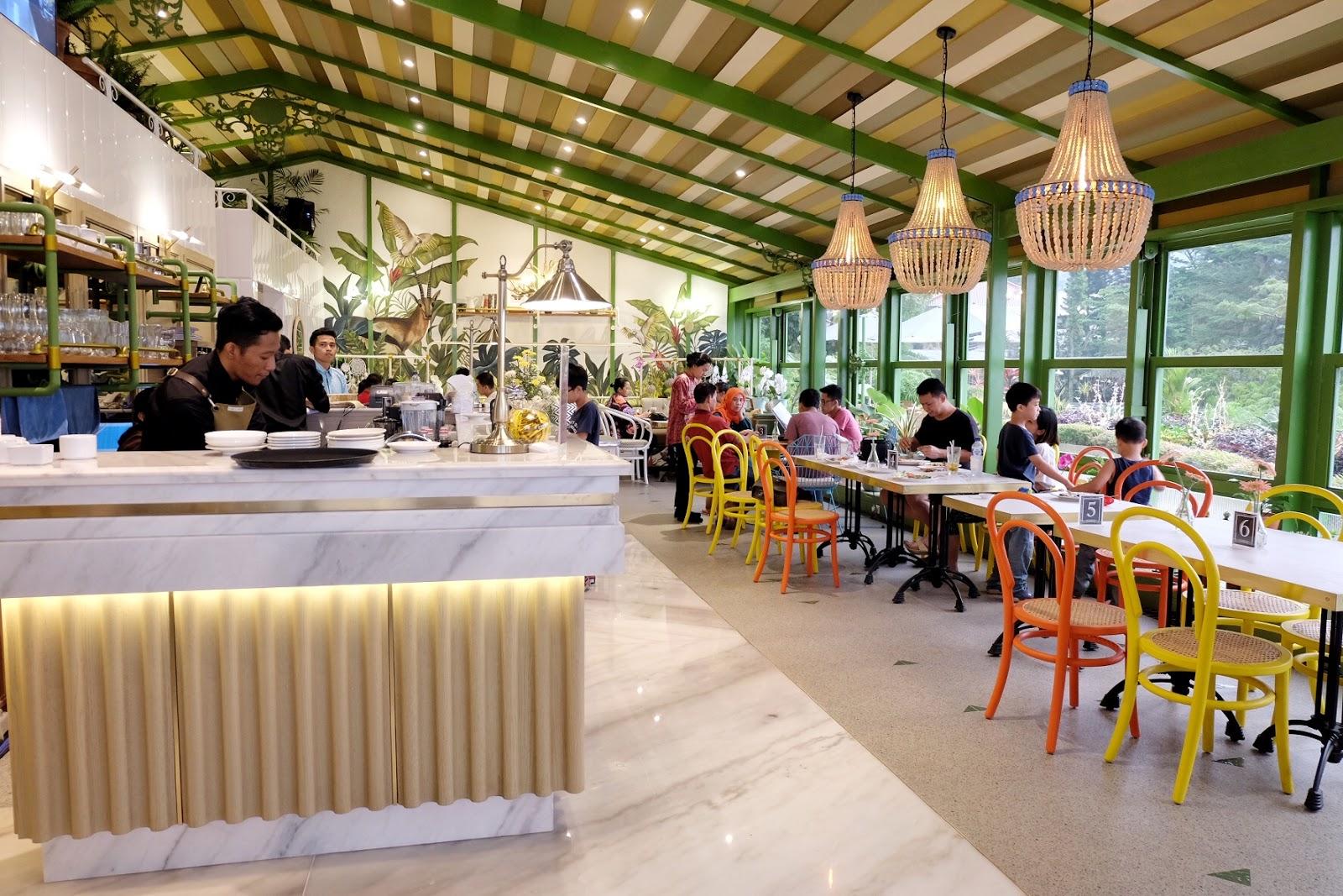 Menikmati Sore Susan Spa Resort Basilicha Menyediakan Restoran Tak Kalah