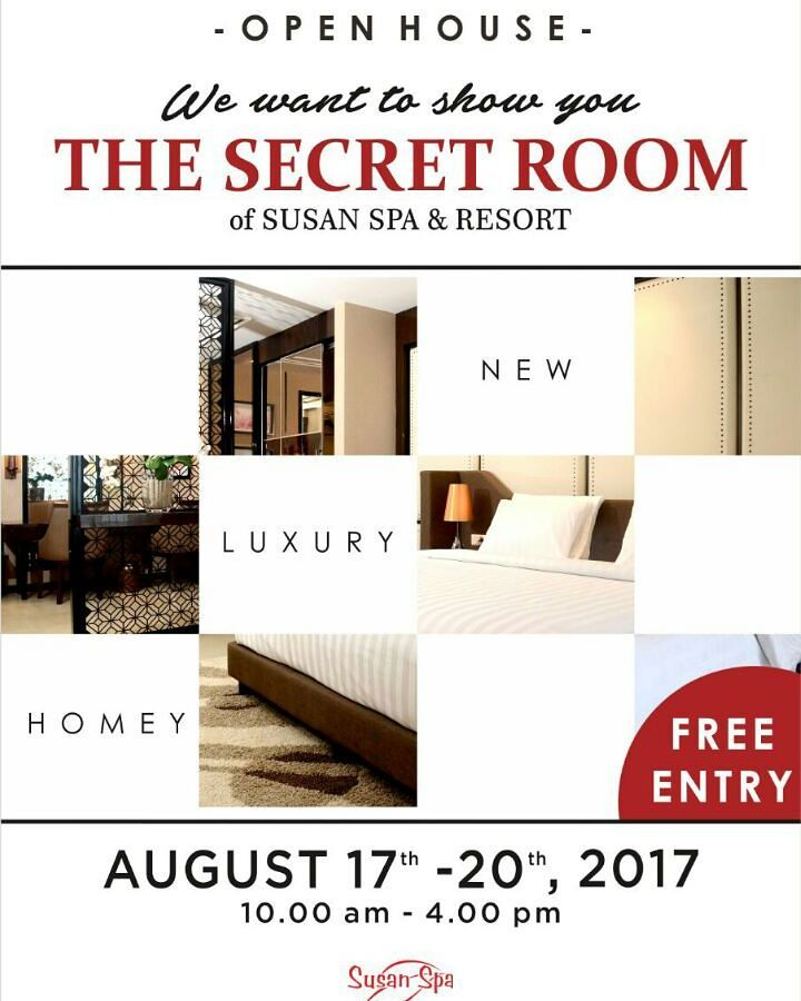 Open House Secret Room Susan Spa Resort Kab Semarang Tourism