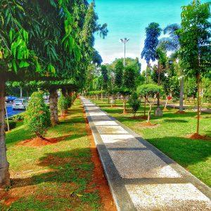 12 Foto Taman Diponegoro Semarang City Central Java Belumterjamah Kebersihan