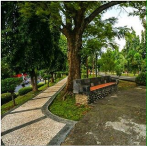12 Foto Taman Diponegoro Semarang City Central Java Belumterjamah Lokasi