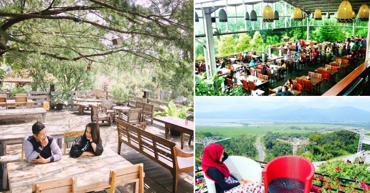 14 Cafe Restoran Semarang Pemandangan Keren Taman Diponegoro Kab