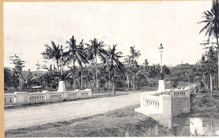 Fariable Semarang Kenangan Candi 1930 Taman Diponegoro Kab