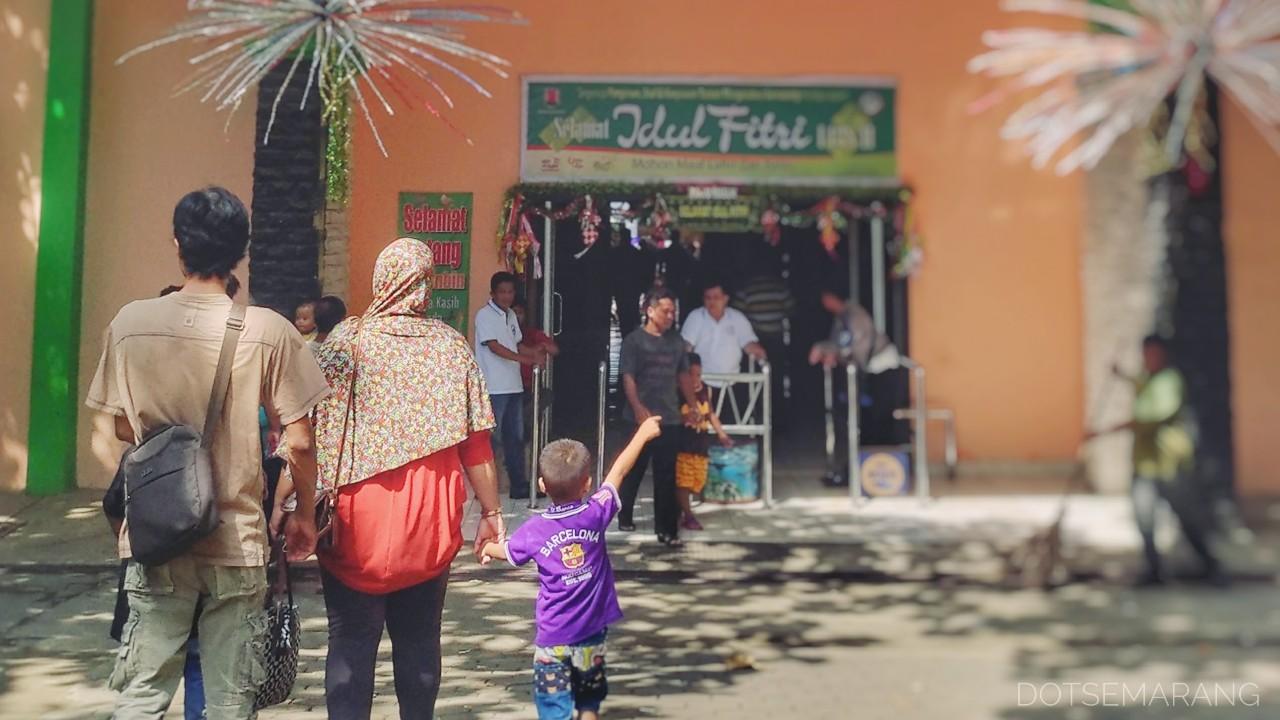 Libur Lebaran 3 Tempat Wisata Semarang Menampilkan Hiburan Taman Diponegoro