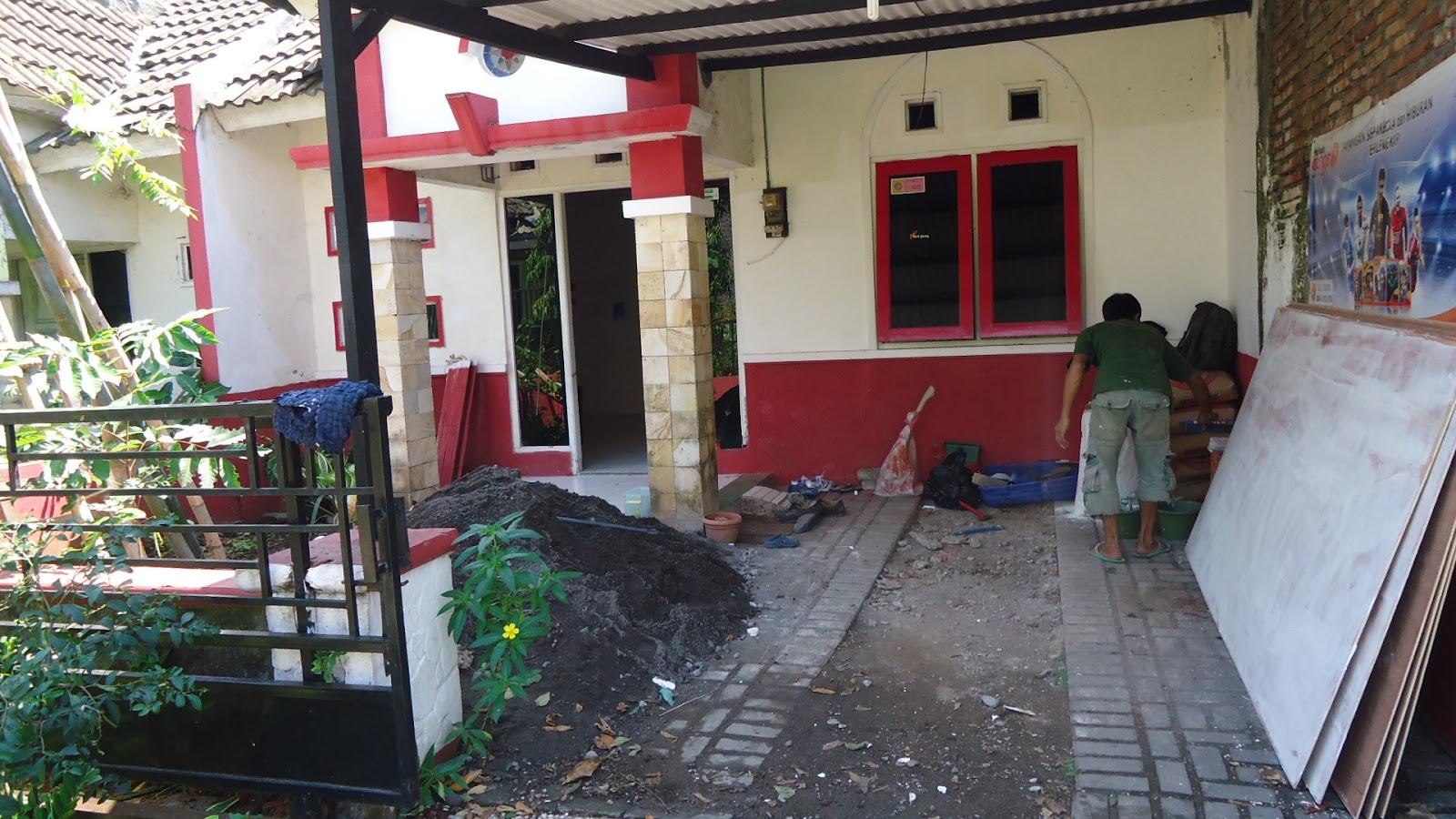 Pemborong Bangunan Renovasi Rumah Semarang Perum Bukit Diponegoro Tembalang Ruang