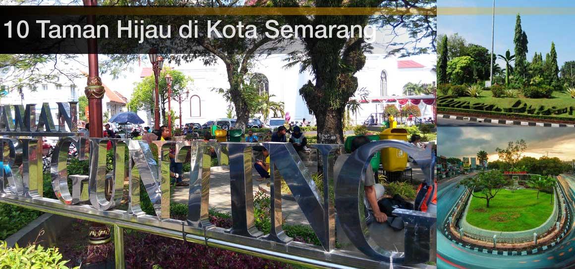Semarang 10 Taman Kota Terfavorit Diponegoro Kab