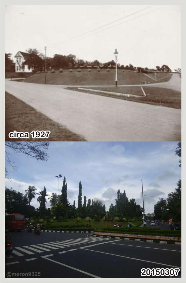 Semarang Tempo Dulu Taman Diponegoro Kab
