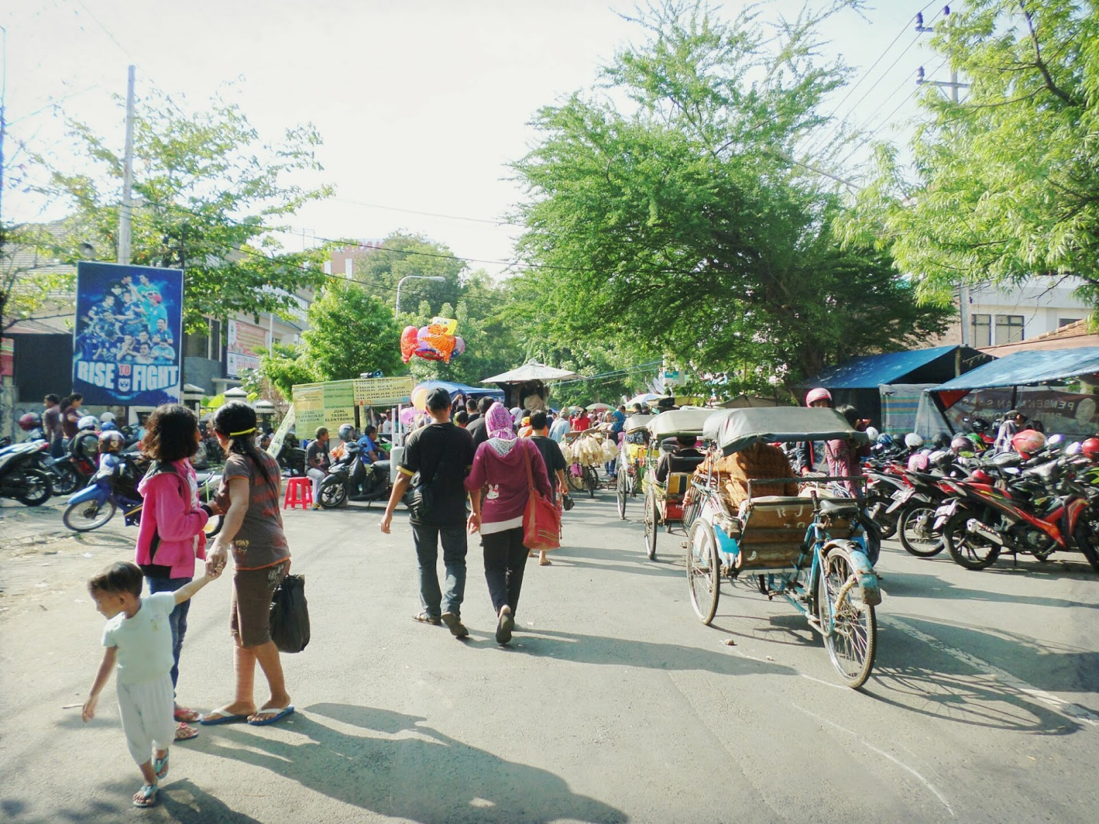 Video Pasar Tiban Minggu Pagi Pkl Stadion Diponegoro Semarang Taman