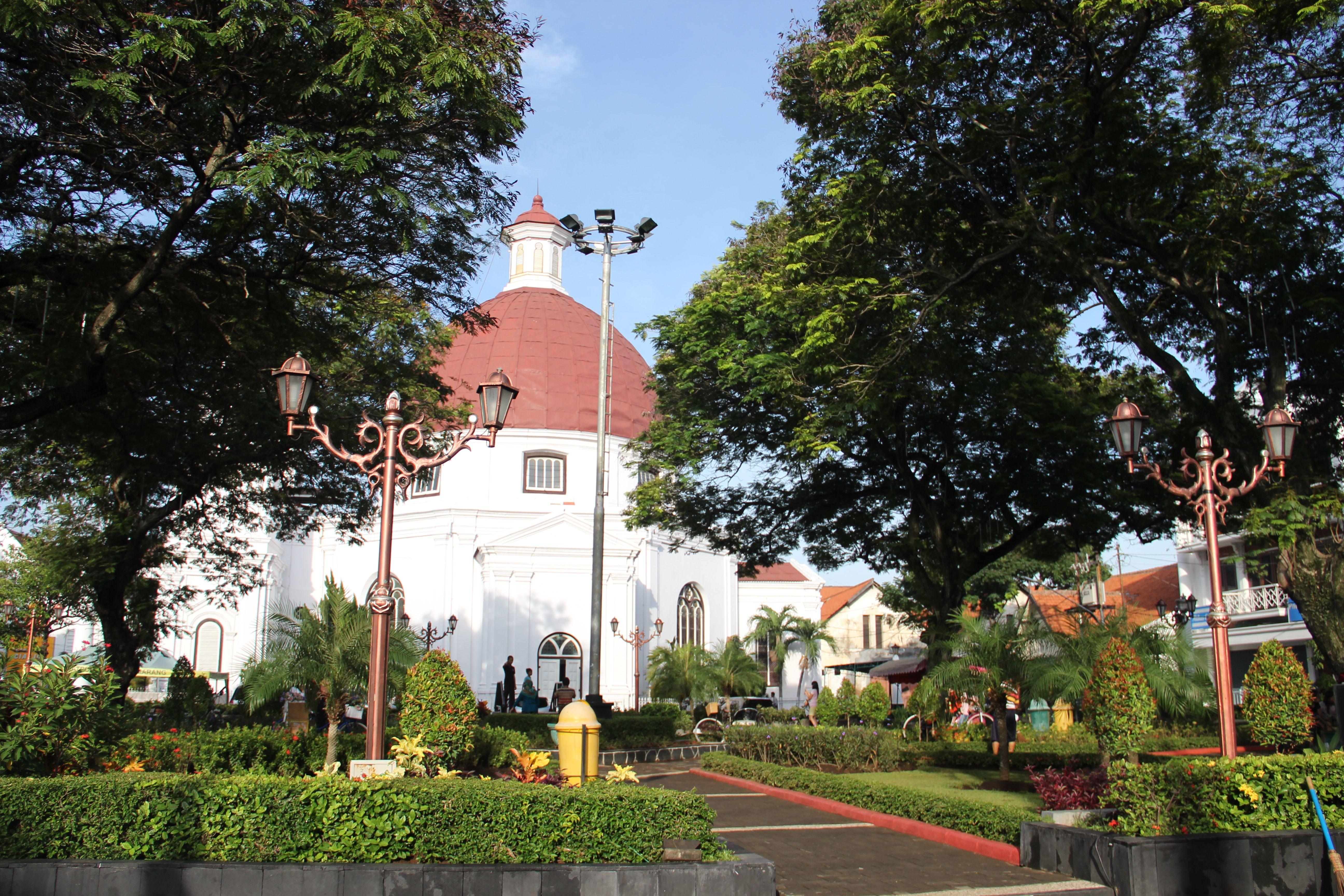 Beauty Park City Semarang English Bangunan Tua Kota Suasana Eropa