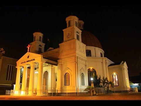 Jalan Taman Srigunting Gereja Blenduk Kawasan Kota Semarang Kab