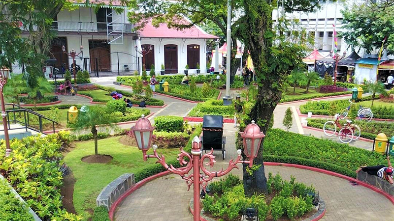 Kembali Lampau Lewat Wisata Kota Semarang Pikniek Taman Srigunting Kab