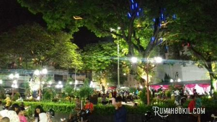 Lho Taman Srigunting Tempat Nongkrong Terbaru Asyik Kota Semarang Kab