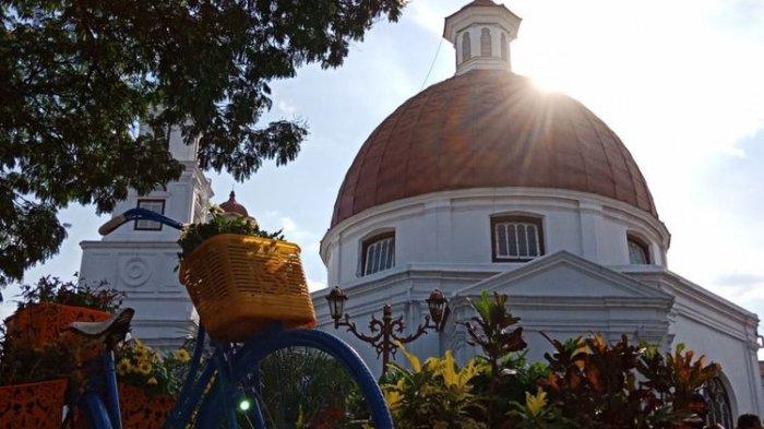 Liburan Kota Semarang Berfoto Ala Noni Belanda Taman Srigunting Bikin