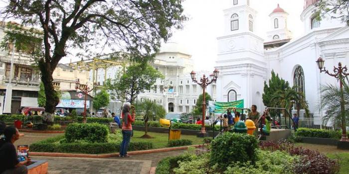 Ngabuburit 4 Taman Kota Semarang Indonesian Heritage Srigunting Kab