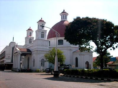 Ojek Semarang Taman Srigunting Kota Landmark Belanda Berwujud Parade Plein