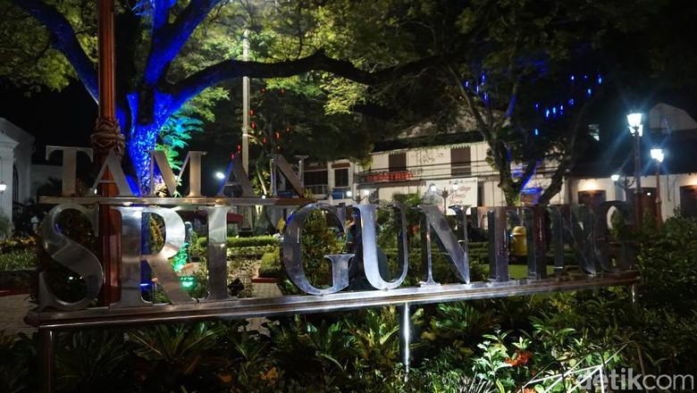 Sri Gunting Taman Instagenic Kota Semarang Bonauli Detiktravel Srigunting Kab