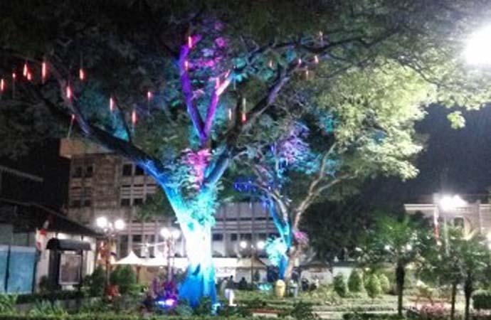 Taman Srigunting Kota Dilengkapi Backsong Kab Semarang