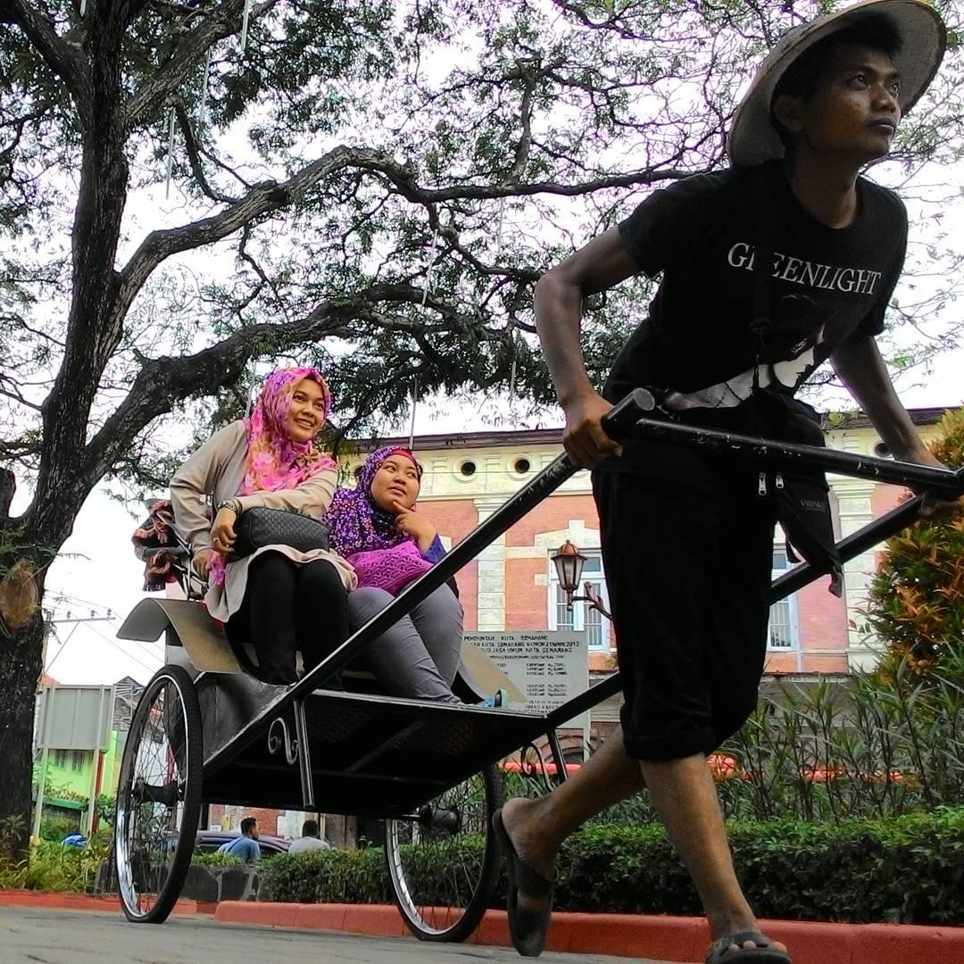 Taman Srigunting Semarang Tempat Hunting Foto Favorit Kawasan Kab