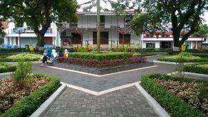 Taman Srigunting Tempat Berkumpulnya Komunitas Kota Semarang Kab