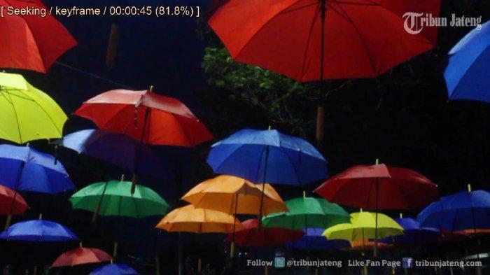 Video Suasana Malam Taman Srigunting Kota Dipenuhi Muda Mudi Kab